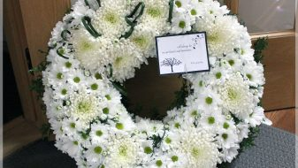 Montreal west island funeral wreath