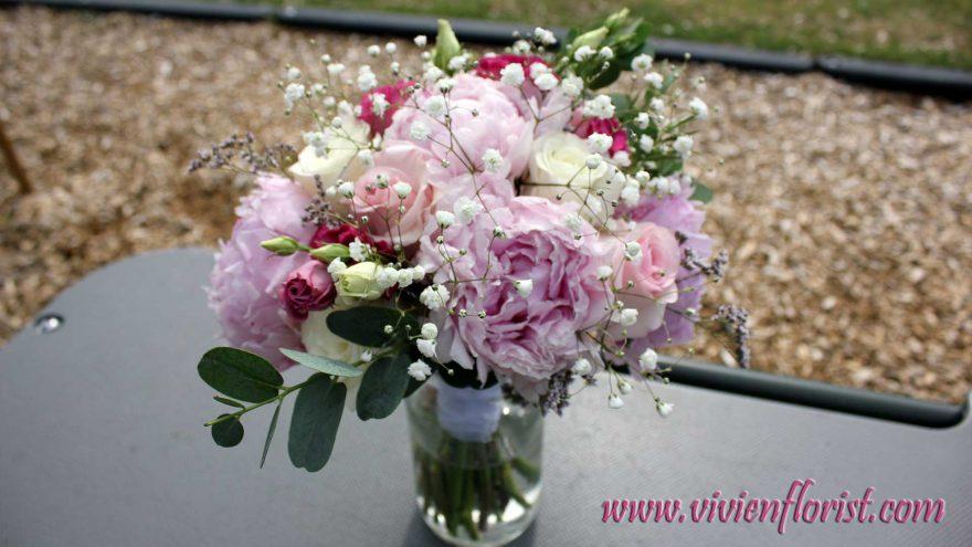 Montreal peony bridal bouquet