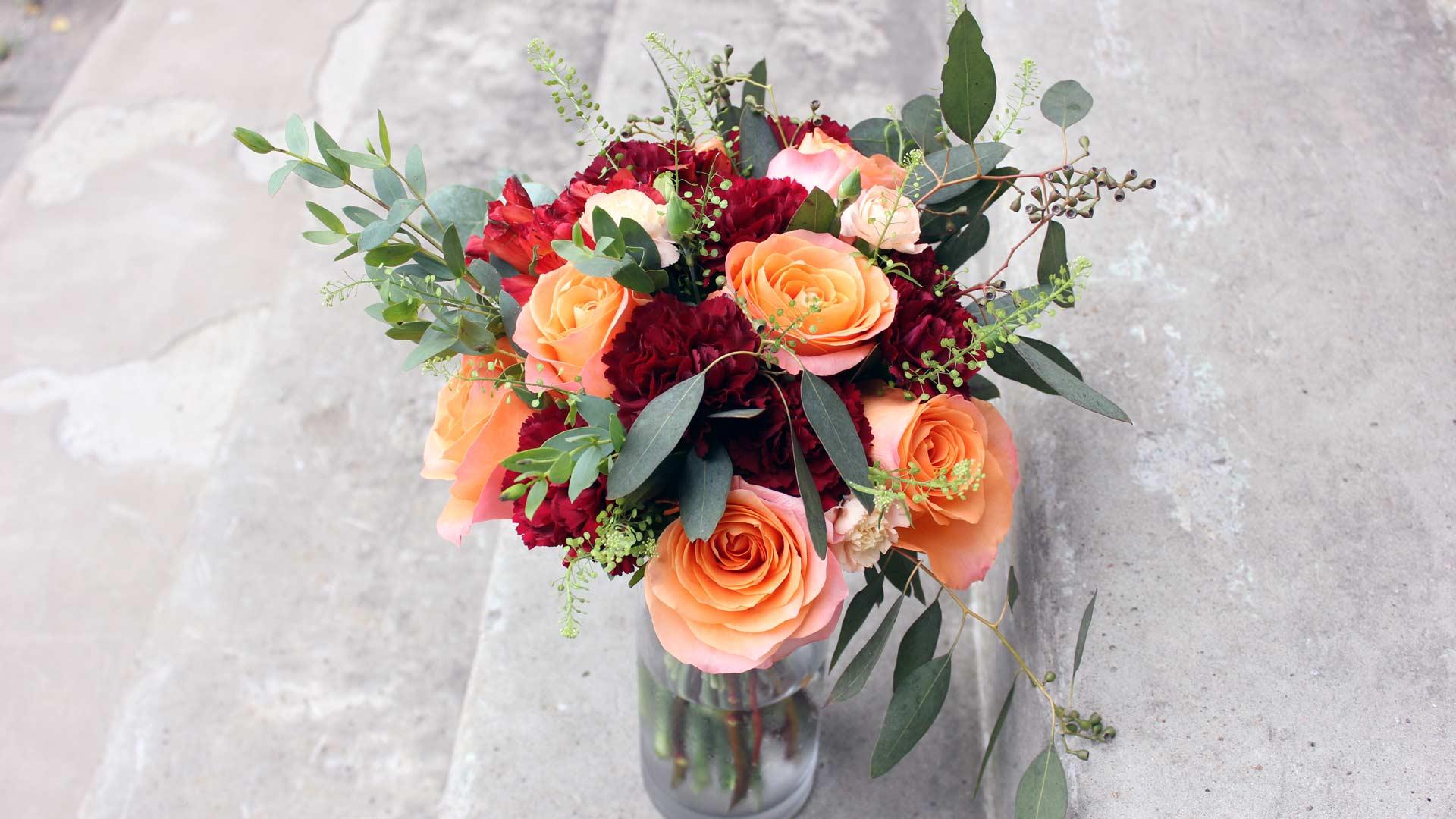 Montreal wedding bouquet