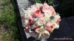 Montreal garden roses bridal bouquet