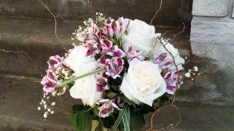 Montreal garden roses bouquet