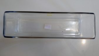 Long / Wide Glass Vase