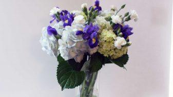 Montreal fresh blue bouquet